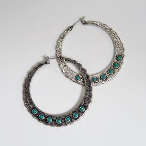 Lucky Brand Boho Hoop Earrings